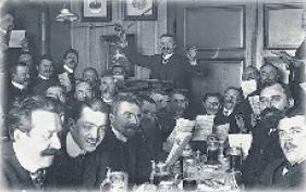 Männerchor des Liederkranzes 1908
