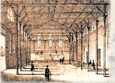 Singhalle von 1843