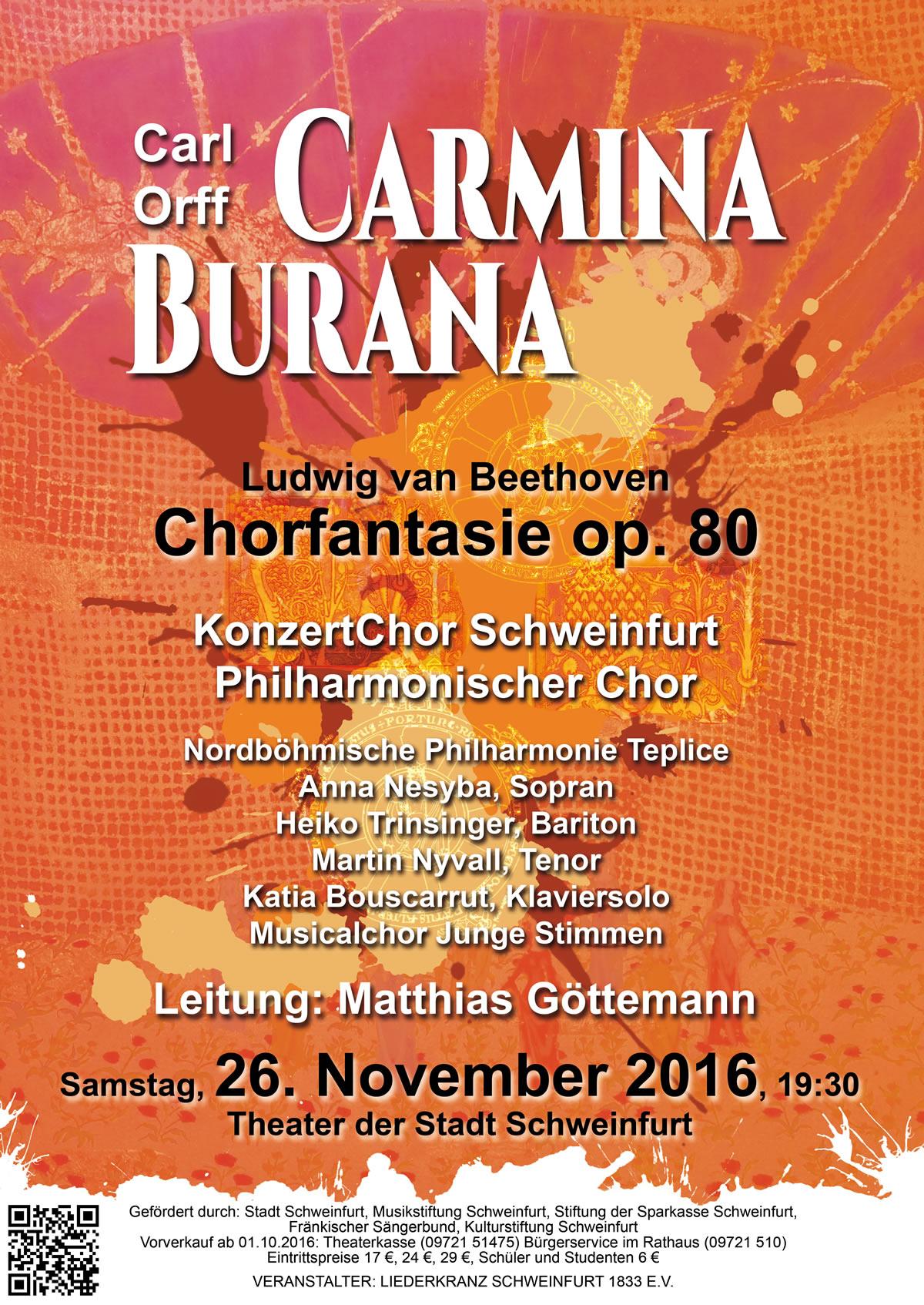 Plakat Carmina Burana